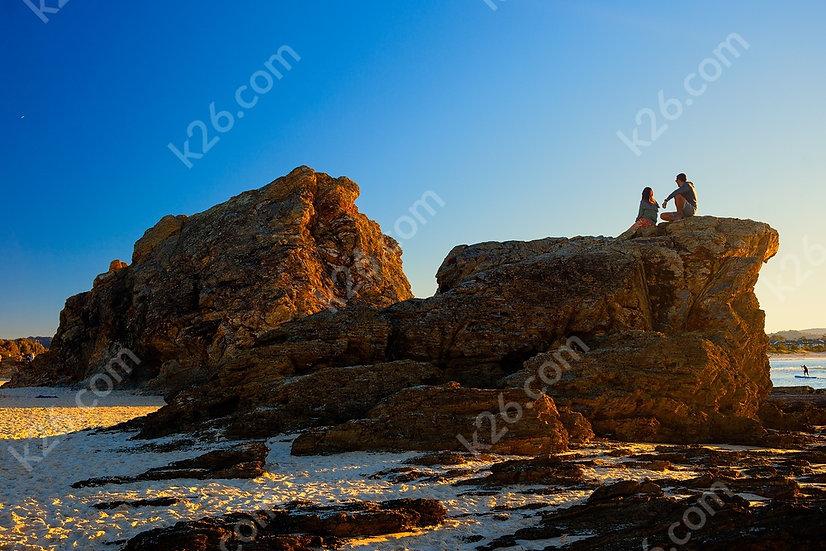 Sunset at Elephant Rock