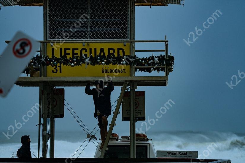 Storm off Surfers Paradise