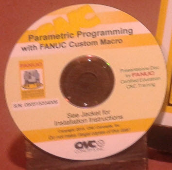 FANUC Certified: Parametric Programming CD-Rom Courseware Only