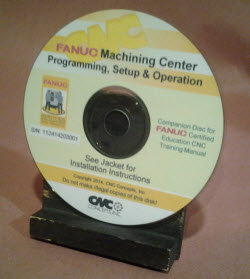 FANUC Certified: Machining Center CD-Rom Coursware Only