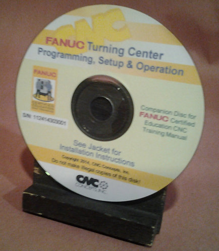 FANUC Certified: Turning Center CD-Rom Courseware Only