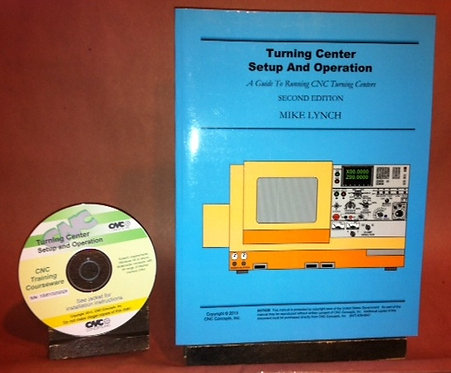 CD-Rom Course: Turning Center Setup and Operation