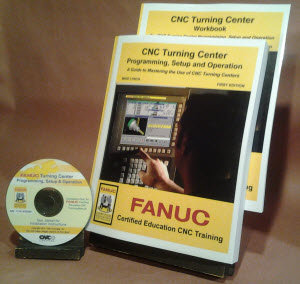 FANUC Certified: Turning Center Programming, Setup, and Operation CD-Rom Course