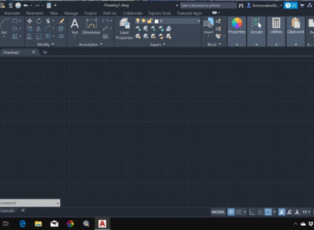 Driving AutoCad 2020