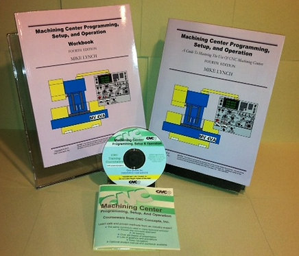 CD-Rom Course: Machining Center Programming, Setup, and Operation