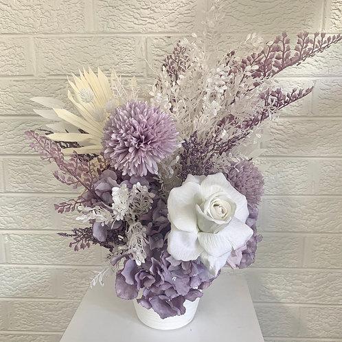 Lilac & White Arrangement