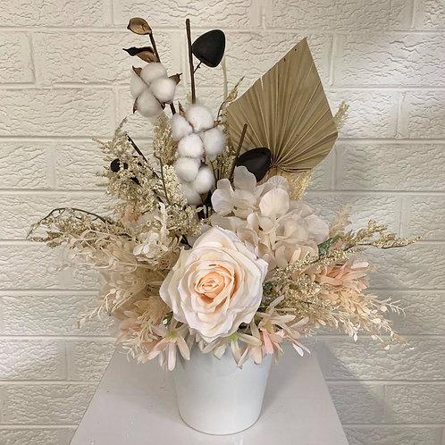 Petite Cotton Cream Florals