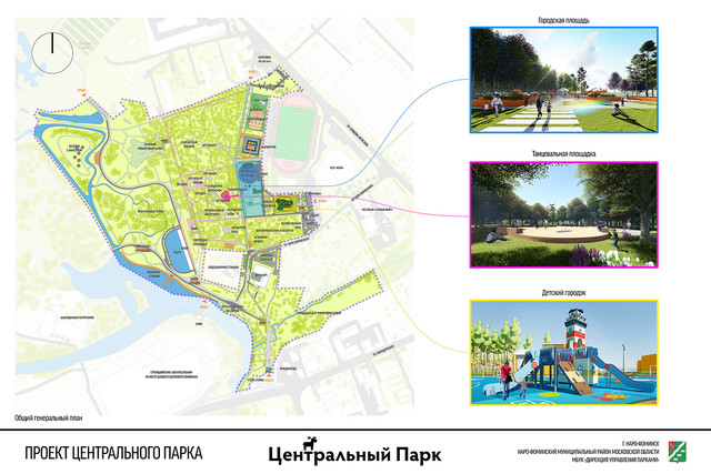 Проект Центрального Парка