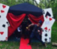 Mystic magic tent
