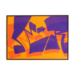 SOLID GROOVE orange purple
