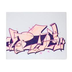 KRIXL SKETCH translucent pink purple