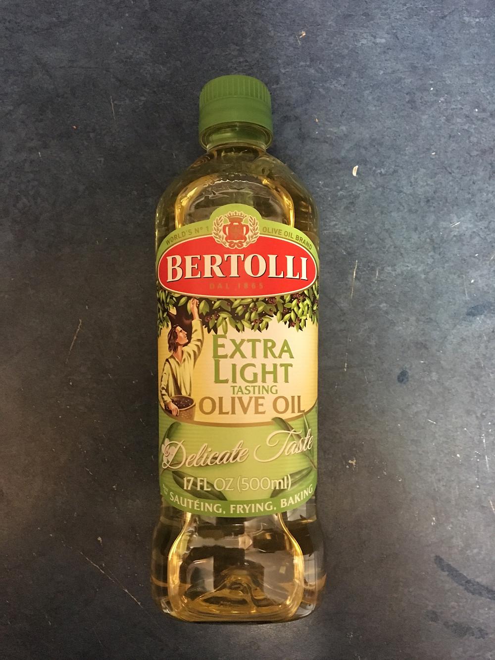 Bertolli's Extra LIGHT Olive Oil