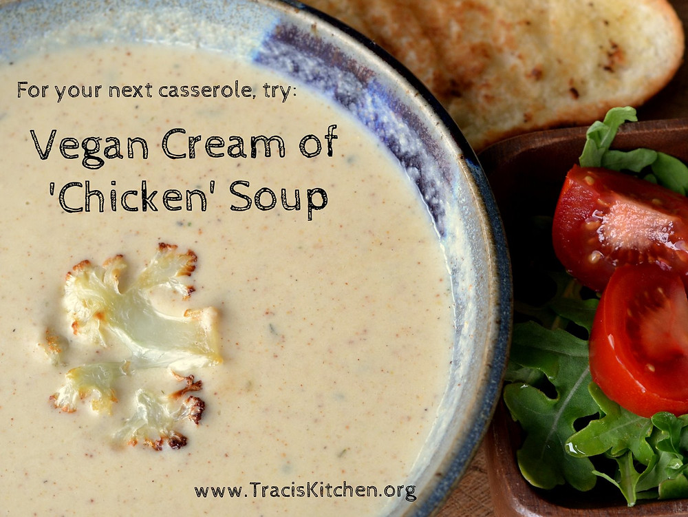 Canned soup substitute! Creamy rich sauce with no dairy!!