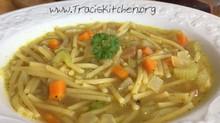 Vegan Comfort Noodle Soup