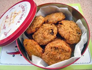 Mrkvové sušenky s Rozinkami a Ořechy