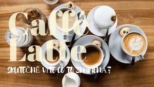 Nejlepší kombinace kávy a mléka!