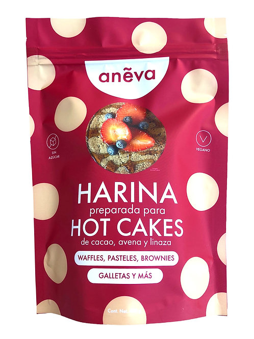 Baking Mix de Cacao,  Avena y Linaza para Hot Cakes, Brownies, Pasteles y Más