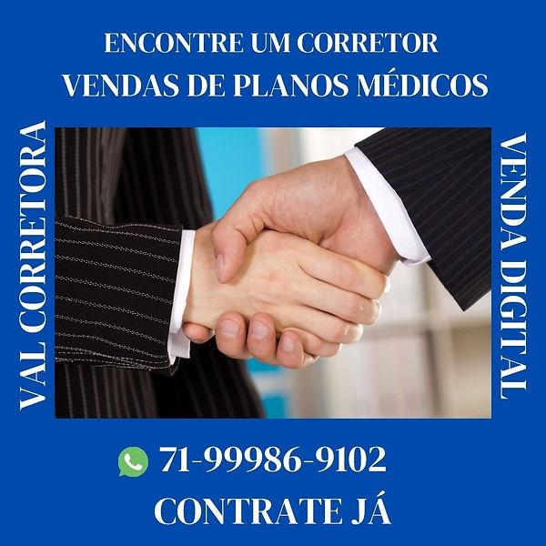 CENTRAL DE VENDAS PLANOS MEDICOS BA