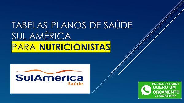 SulAmerica Saude para Nutricionista