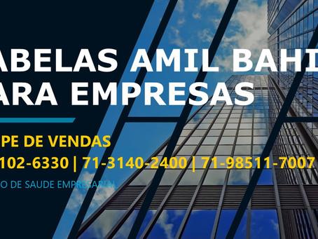 71-4102-6330 Tabelas de Vendas - Amil Saude Empresas - Bahia