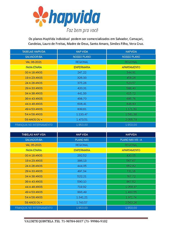 06-2021 HAPVIDA - PLANO DE SAUDE INDIVID