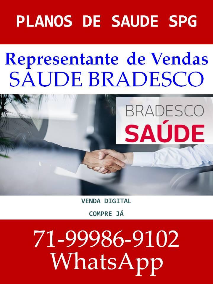 Vendas Nacional - Bradesco Saude Empresarial - BA, SE, SP, DF, GO, MG