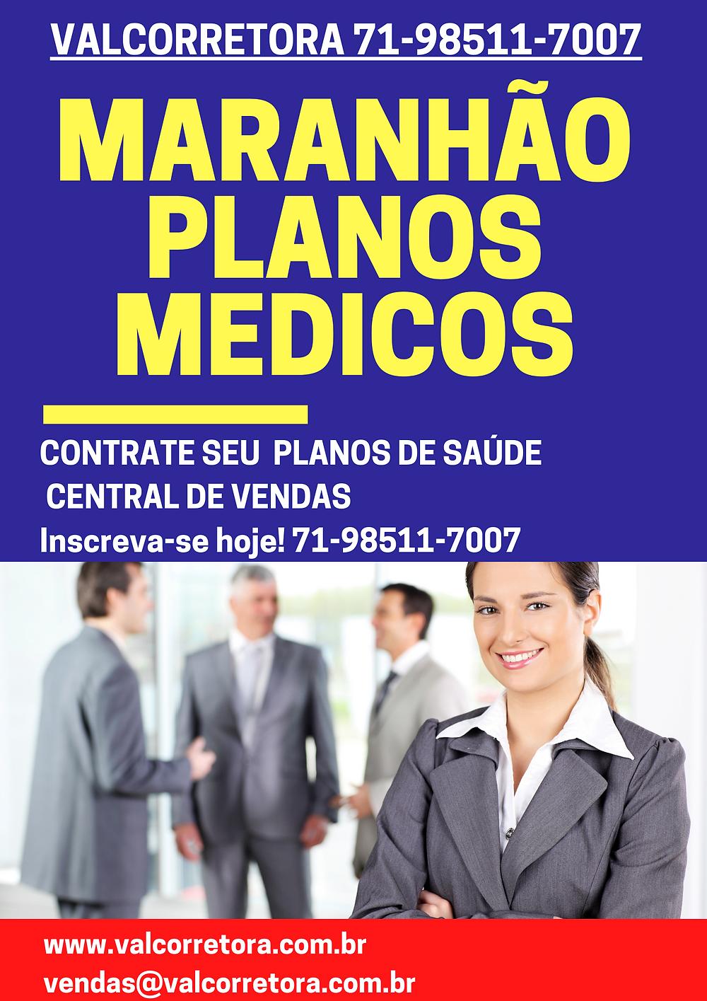 Planos de Saúde Adesão Individual Planos de Saúde Adesão Familiar Planos de Saúde Adesão Empresarial Central de Vendas de Planos de Saúde Corretora Vendas de Planos de Saúde em Maranhão