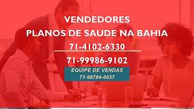 VENDEDORES PLANOS DE SAUDE EM SALVADOR-B
