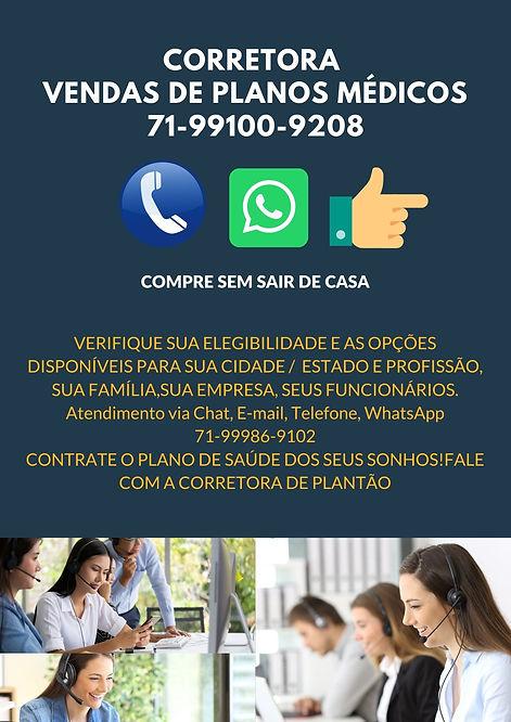 Distrito Federal Corretora Representanre de Vendas Planos de Saude, PLANOS DE SAUDE EM BRASILIA