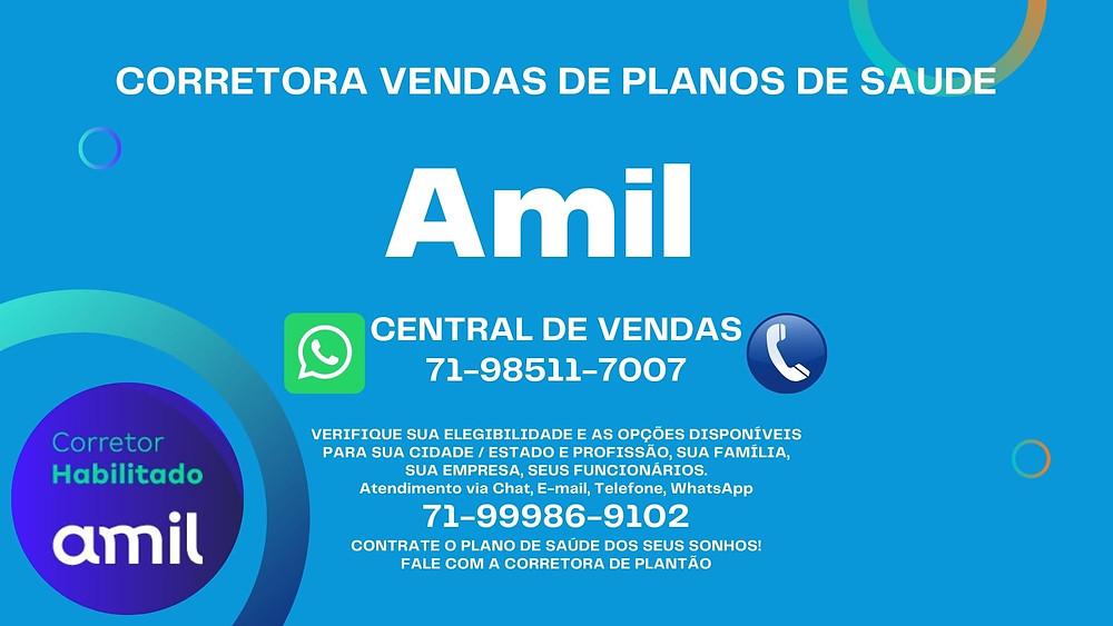 Vendas Online Nacional - Amil Saude - Amil Dental