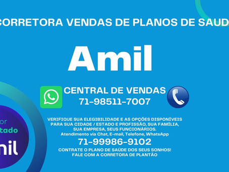 71-99986-9102 - Vendas Online Nacional - Amil Saude - Amil Dental
