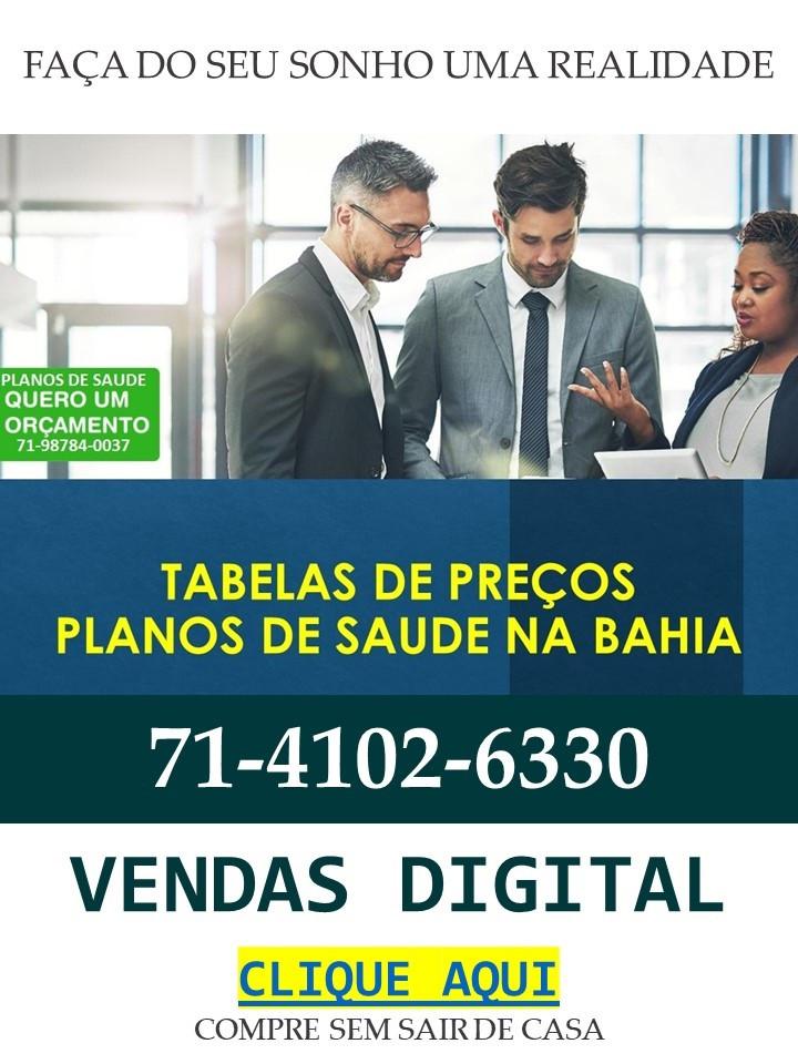 Planos de Saude BA Vendas Digital compre sem sair de casa