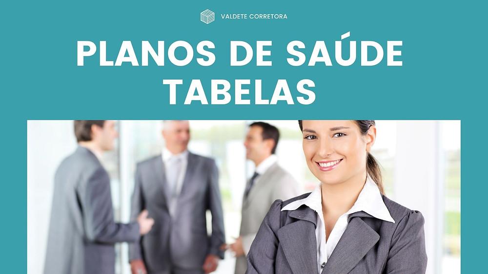 Tabelas 2020/2021   Planos de Saude - SUL AMERICA SAUDE