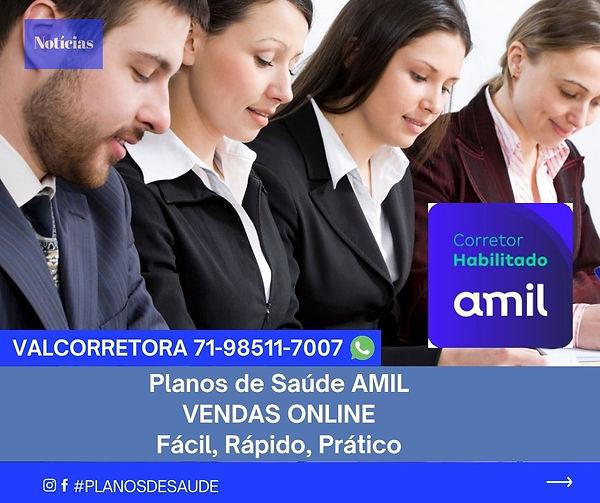 CORRETORES PLANOS DE SAUDE AMIL
