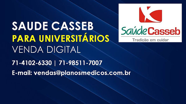 SAUDE CASSEB PARA UNIVERSITARIO