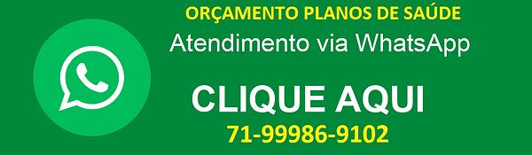 Atendimento-via-Whatsapp, VENDAS DE PLANOS DE SAUDE