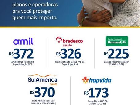 Plano de Saúde Salvador tabelas de preços