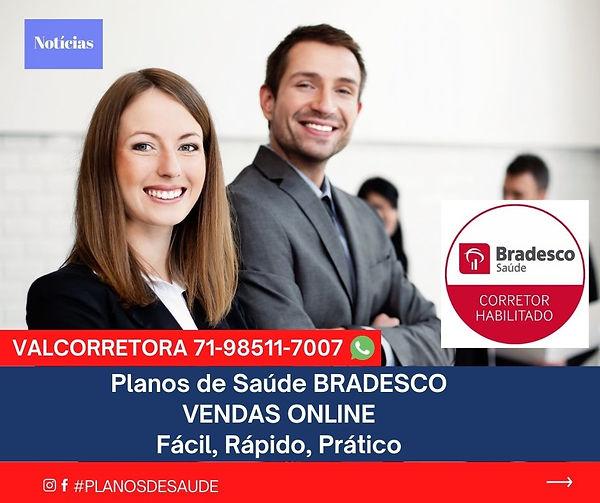 CORRETORA SAUDE BRADESCO, Planos de SaudeBahia