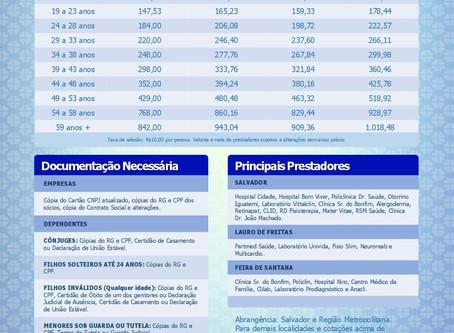 Tabela de Preços Amex Saude Empresas | Planos de Saúde Barato