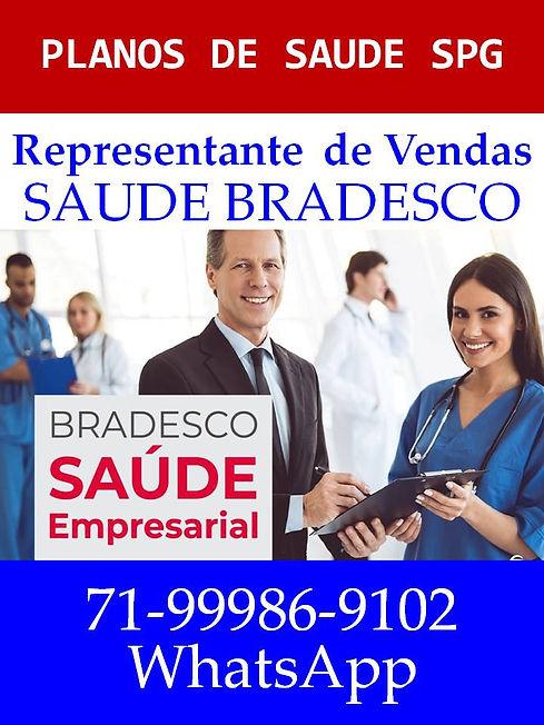 REPRESENTANTE DE VENDAS SAUDE BRADESCO P