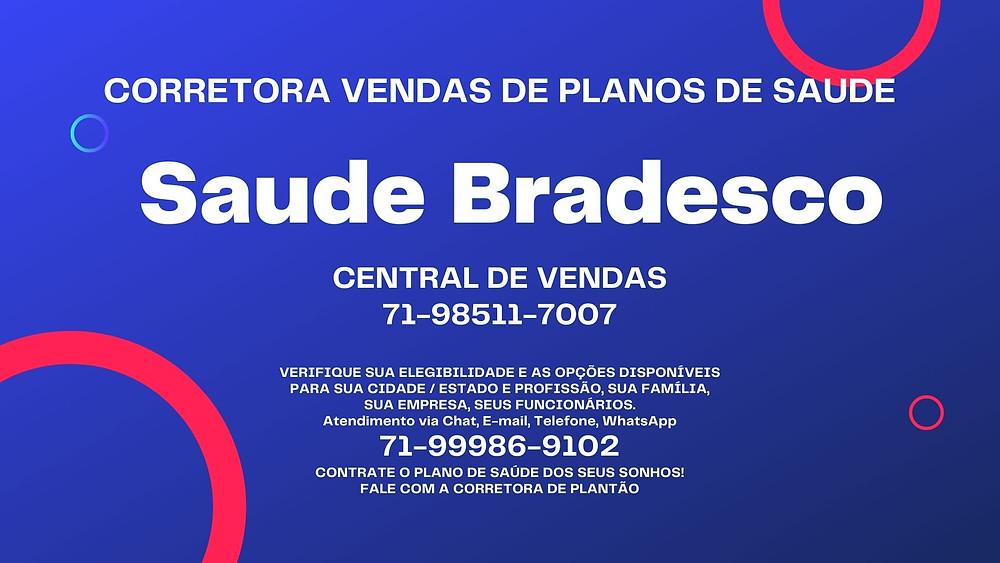Saude Bradesco | Cobertura Nacional
