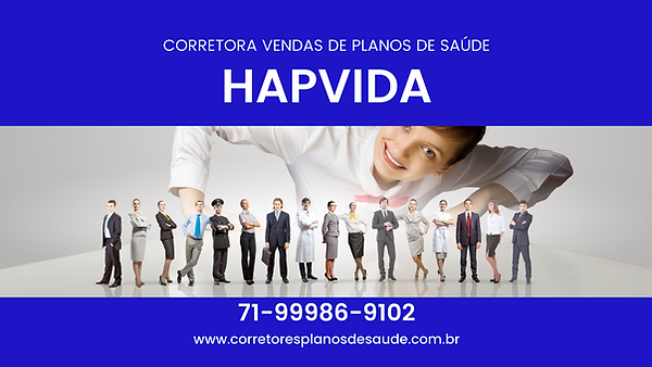PLANO DE SAUDE HAPVIDA