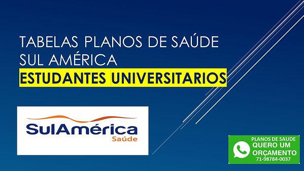 SUL AMERICA SAUDE SALVADOR BAHIA PARA ESTUDANTE UNIVERSITARIO