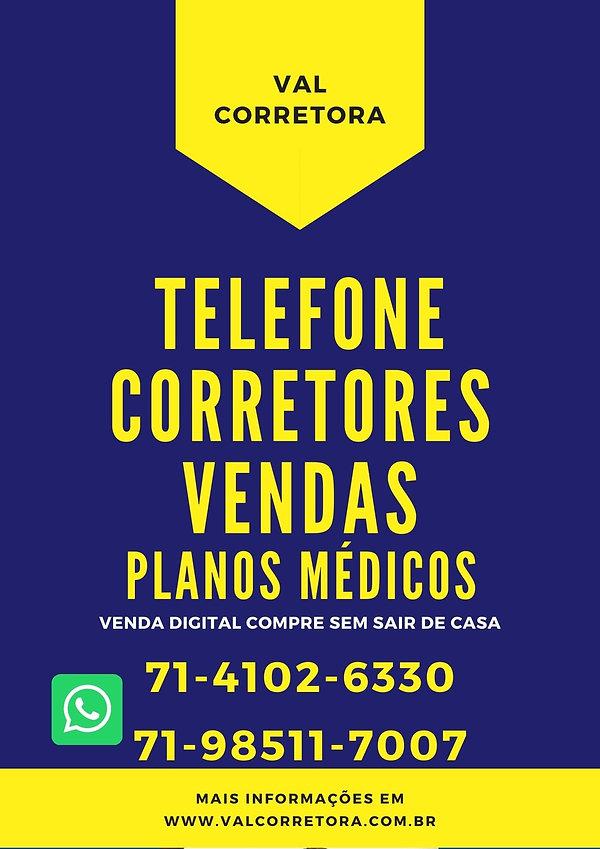 CORRETORES PLANOS DE SAUDE