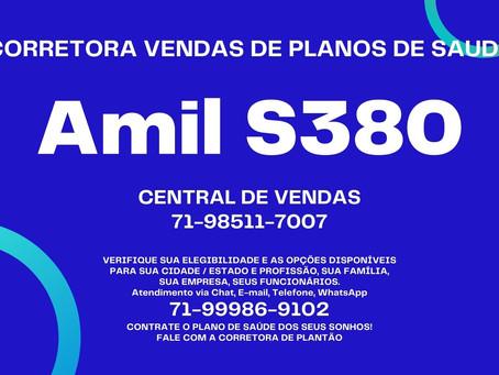 71-4102-6330 Tabelas de Vendas - Amil Saude Empresas - Guanambi-BA