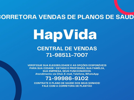 71-4102-6330 | HapVida Tabelas Clube de Saude | Venda Digital