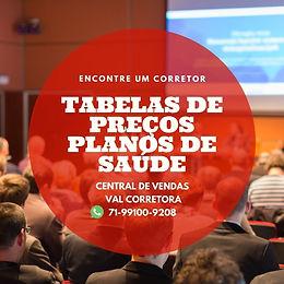 TABELAS DE PLANOS DE SAUDE