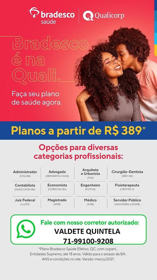 TABELAS QUALICORP-PLANOS DE SAUDE BRADES