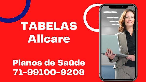TABELAS PLANOS DE SAUDE ALLCARE