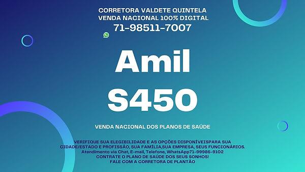 CORRETORA VENDAS DE PLANOS DE SAUDE AMIL